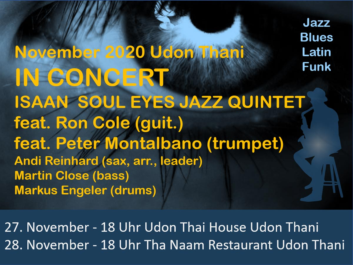 Isaan Soul Eyes Jazz Quintet in Concert